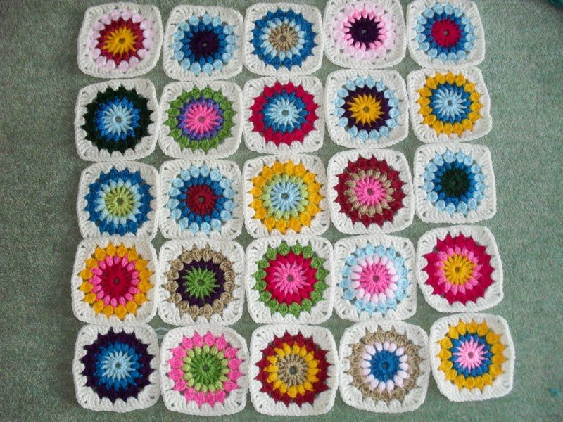 My Starburst Crochet Blanket From Mollie Makes Patterned To