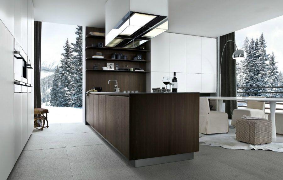 Twelve Kitchen von Carlo Colombo von Varenna Poliform , Kochen mit