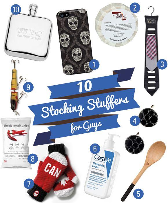 10 Stocking Stuffers For Guys
