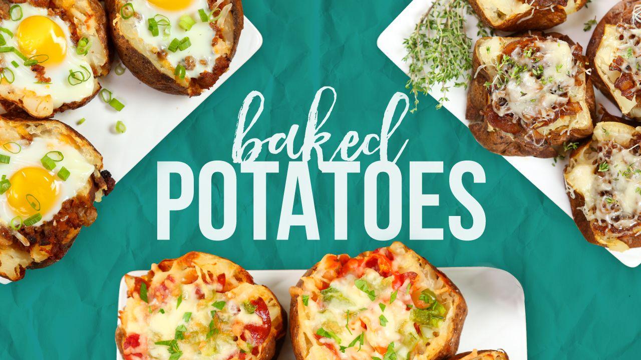 3 Baked Potato Recipes!   Recipes to Try   Pinterest   Recipes ...