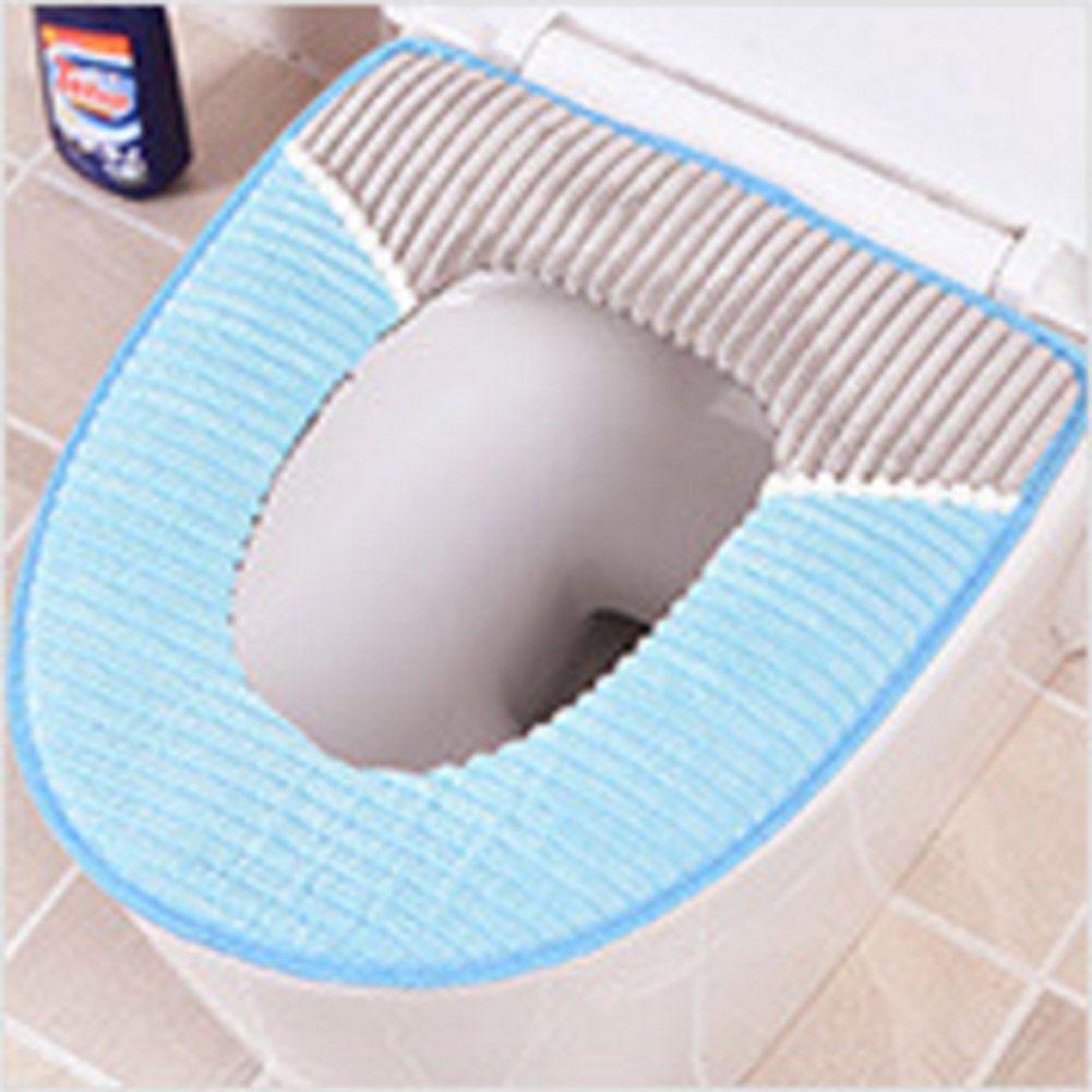 Bathroom Supplies High-Quality Velvet Toilet Seats PU Leather ...