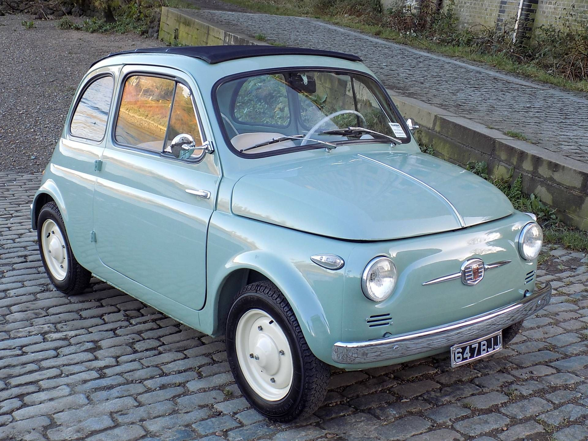 FIAT 500 Nuova | 500 | Pinterest | Fiat, Classic trader and Cars