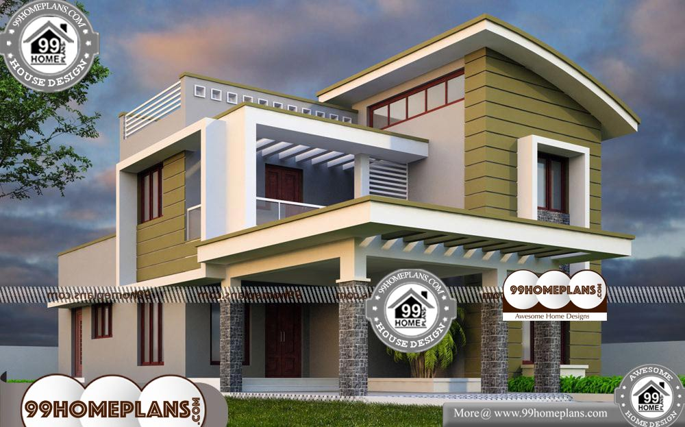 Modern Home Plans Designs Kerala 60 Best 2 Storey House Plans Free Affordable House Plans Contemporary House Plans Modern House Plans