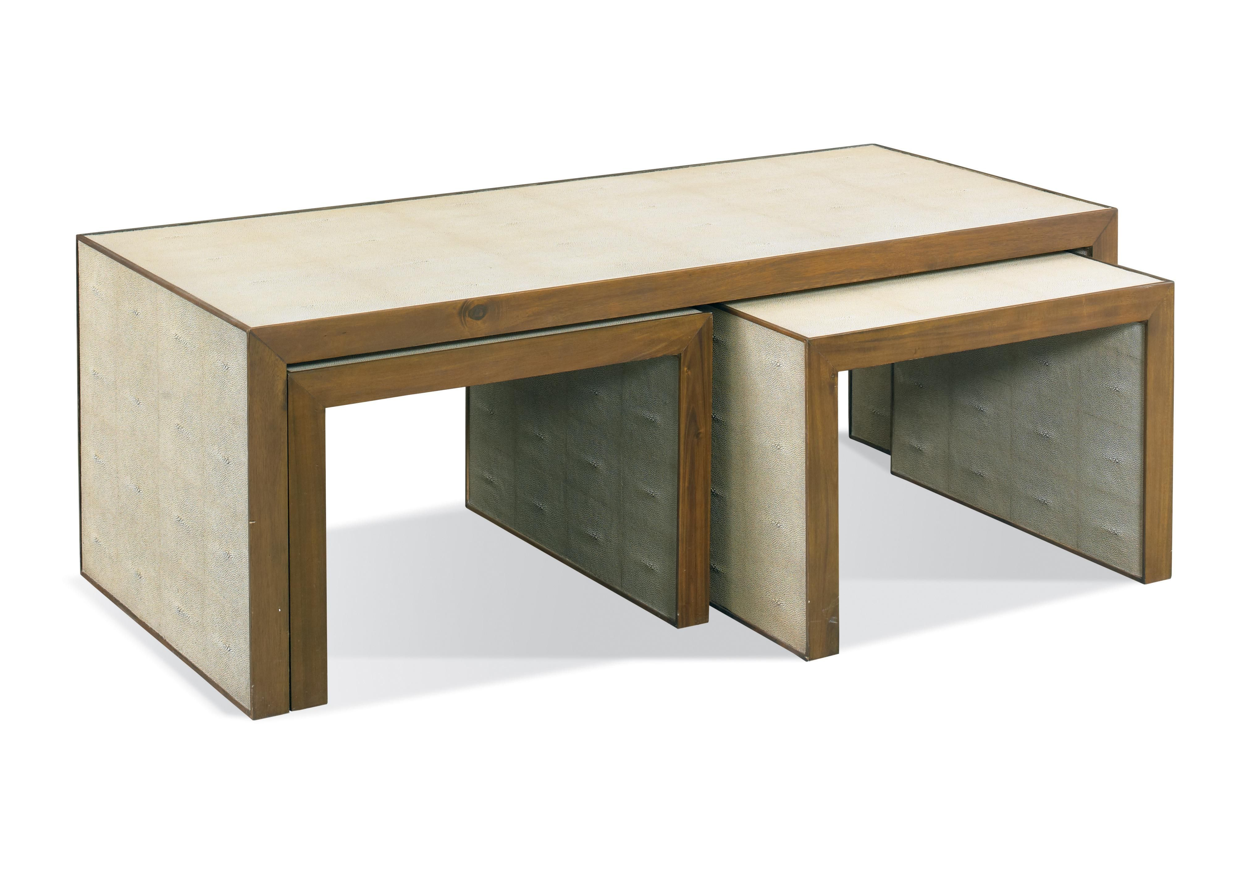 Large table w d h two small tables w d h belgian