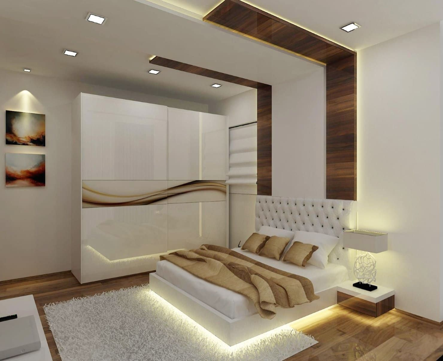 Master Bedroom Modern Style Bedroom By A Design Studio Modern Wood Wood Effect Homify 1000 In 2020 Modern Style Bedroom Ceiling Design Bedroom Modern Bedroom