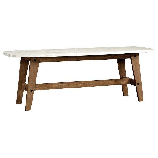 Soft Modern Coffee Table - Fine Walnut - Sauder   Mid ...