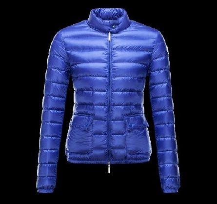 Veste doudoune femme bleu