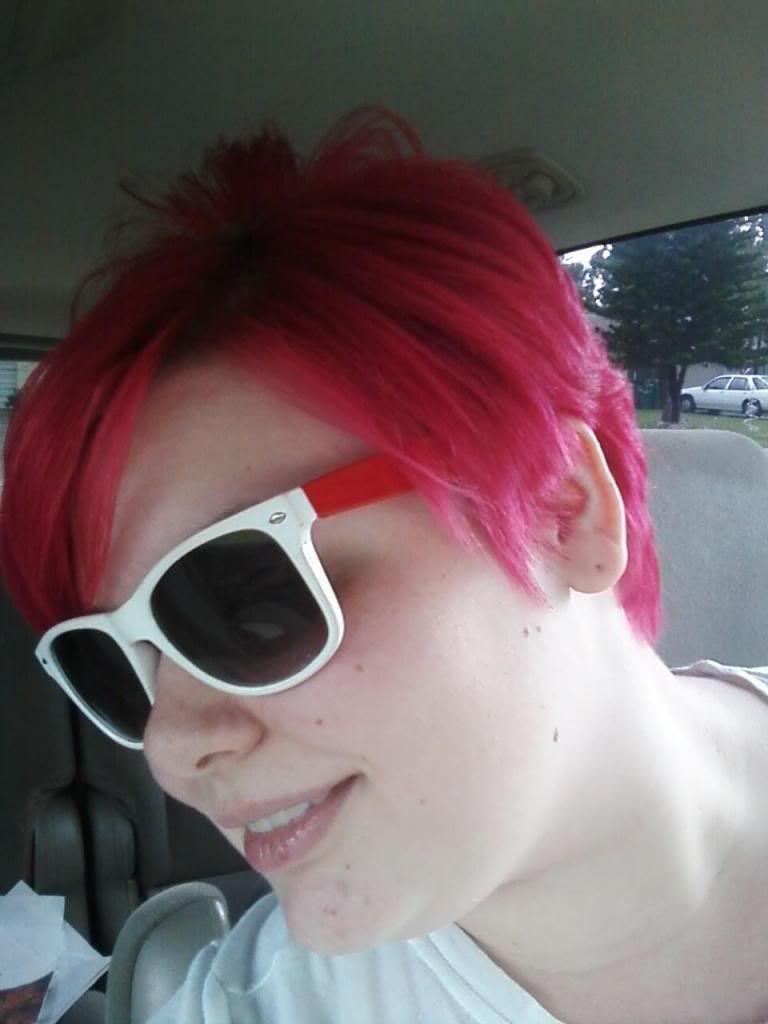 My new hair girl short hair short hair and edgy hair