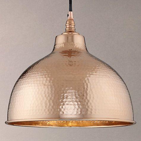 bolu pendant shade copper