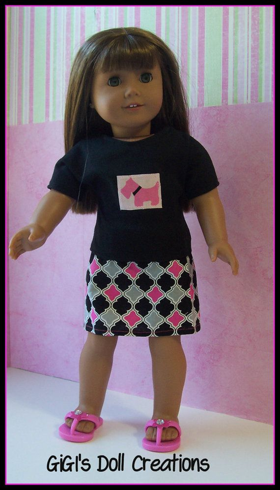 Doll clothes fit American Girl Doll | AMG doll clothes | Pinterest ...