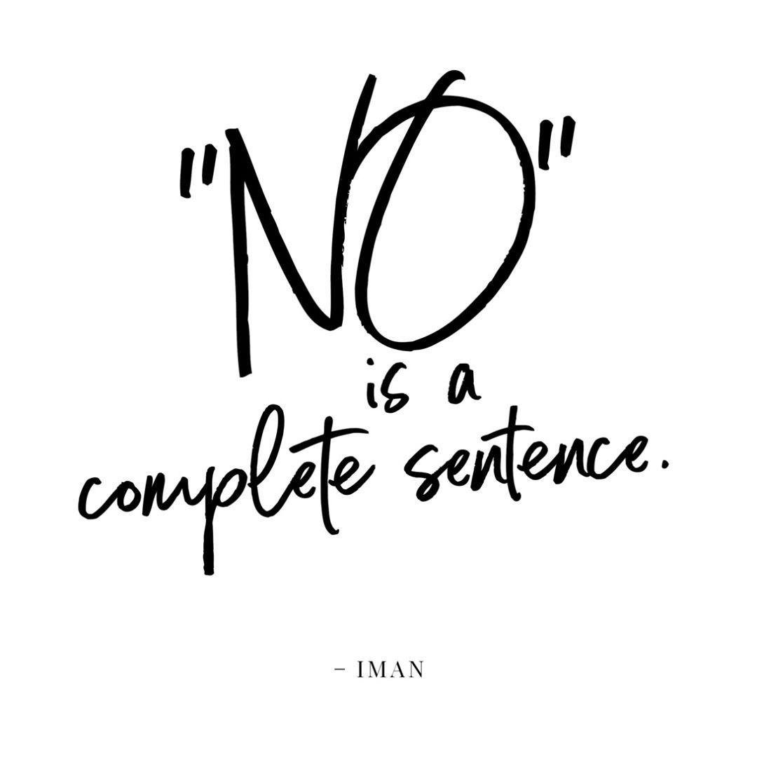 Great Quote By Iman Typography By Stine Wiemann