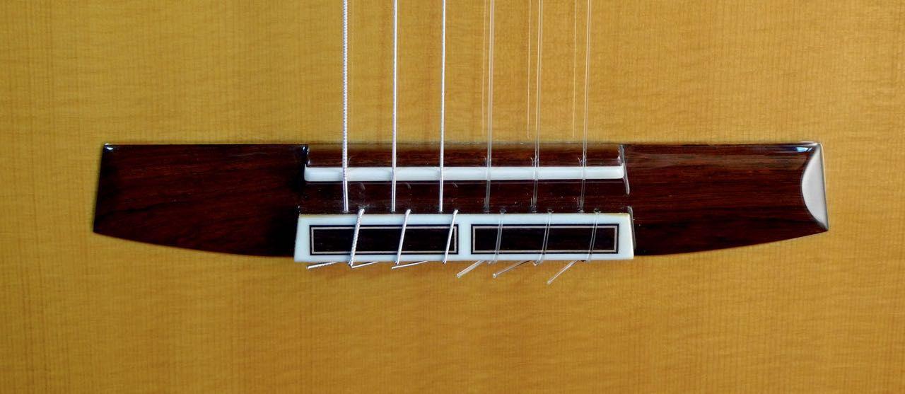 Classical Guitar Rosewood Bridge