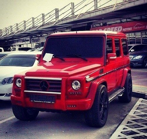 Red Mercedes Benz Truck Mejores Coches Coches De Lujo Coches