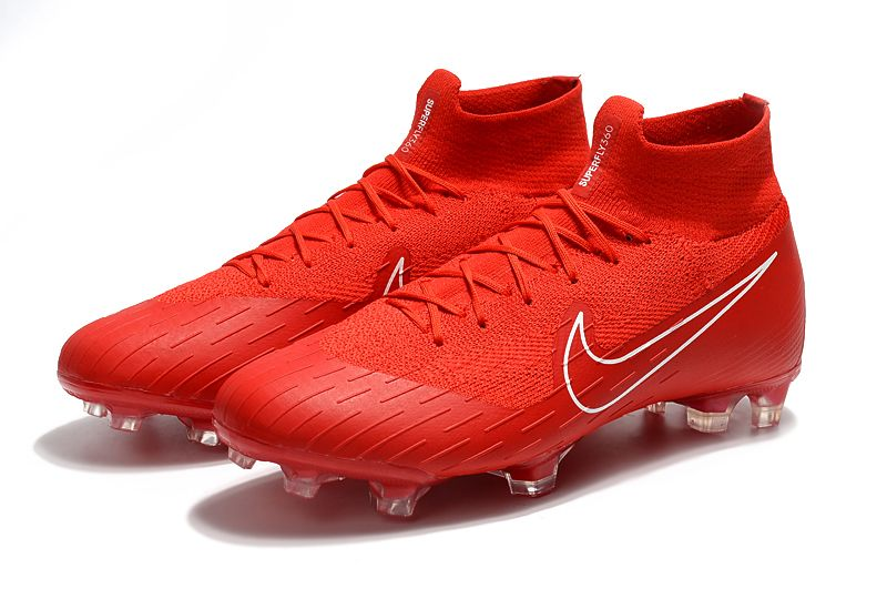 Nk Mercurial Superfly Vi 360 Elite Fg Soccer Cleats Red In 2020 Soccer Cleats Cool Football Boots Girls Soccer Cleats