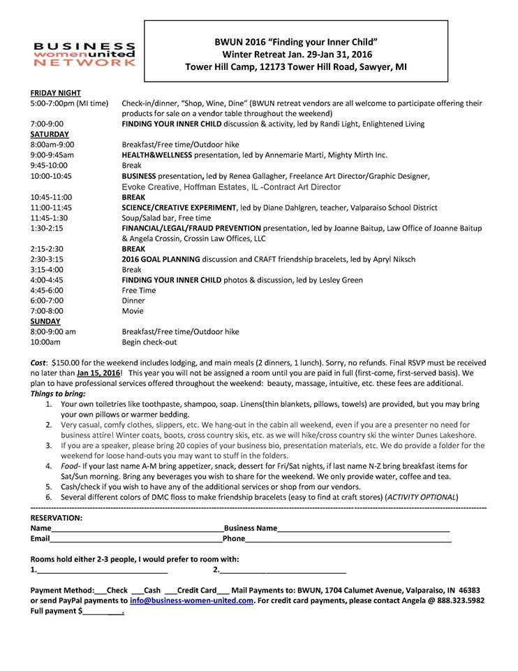 2016 Retreat Agenda Cover letter for resume, Resume