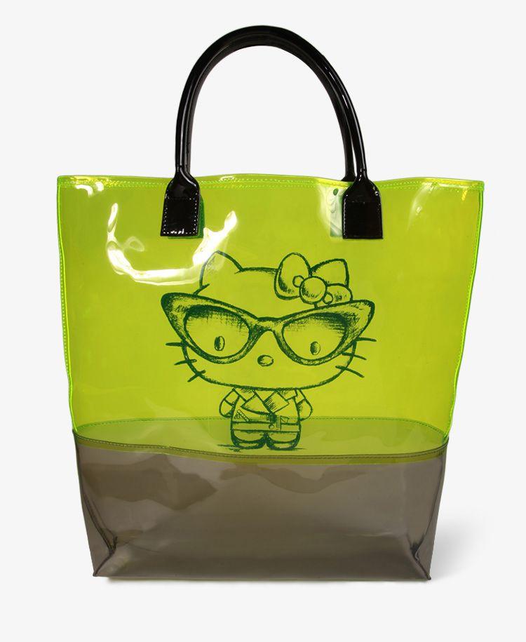 487971c11e2e Clear Hello Kitty Tote