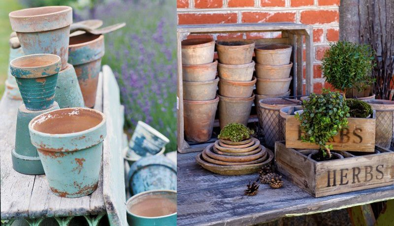 Recicla tus tiestos viejos, 10 ideas para dar vida al jardín