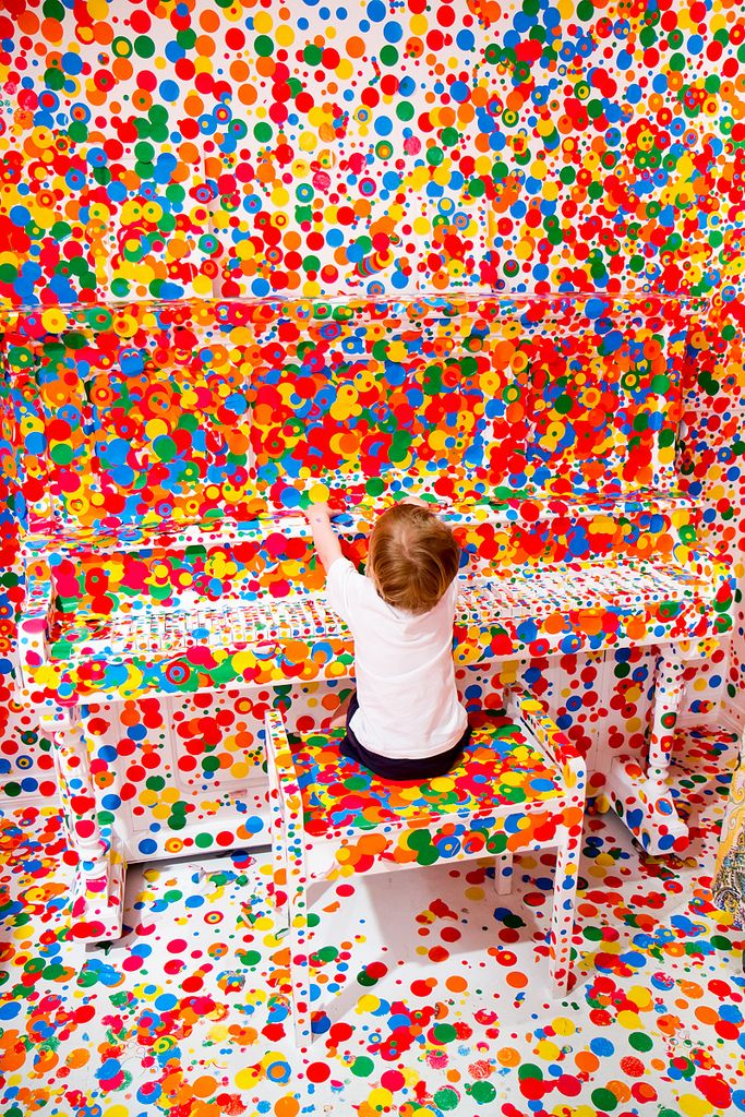 More Piano Dots Yayoi Kusama's 'The obliteration room