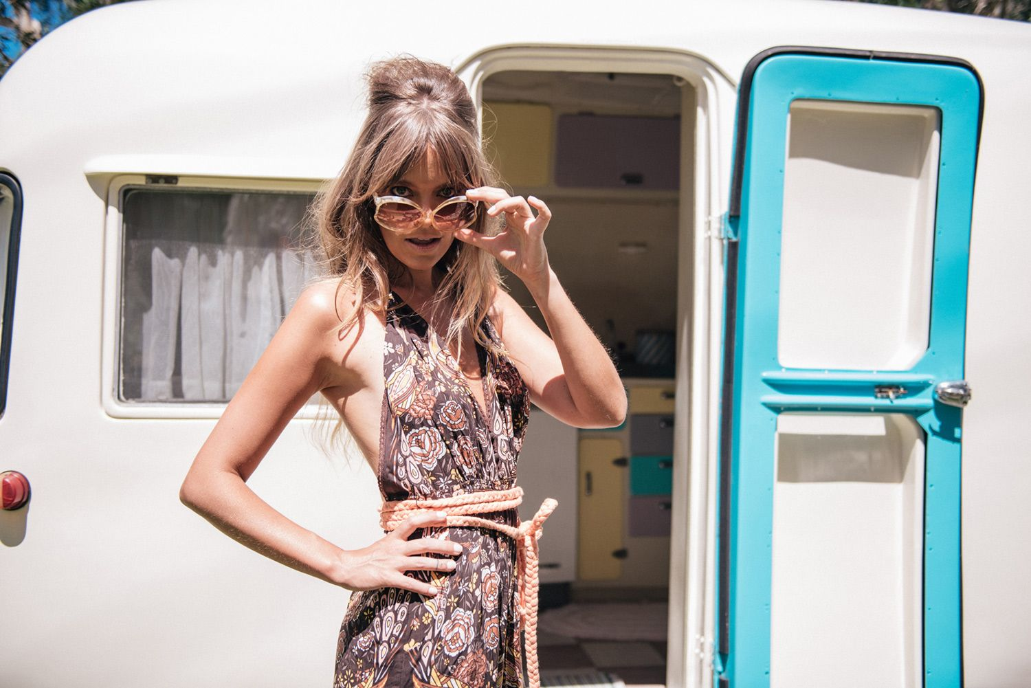 Christina Macpherson for Spell & The Gypsy Collective   Hotel Paradiso Onesie