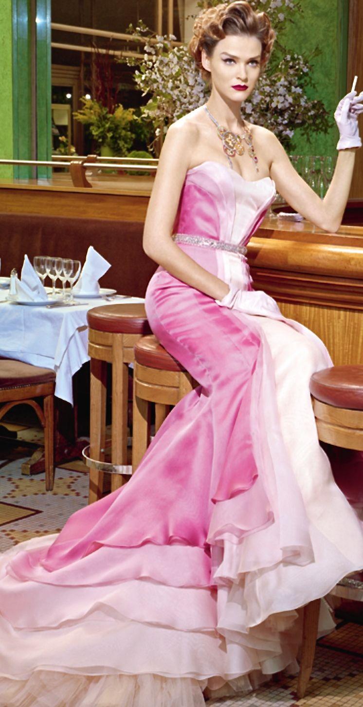 Versace! | Dreamy | Pinterest | Vestidos de fiesta, Fucsia y ...
