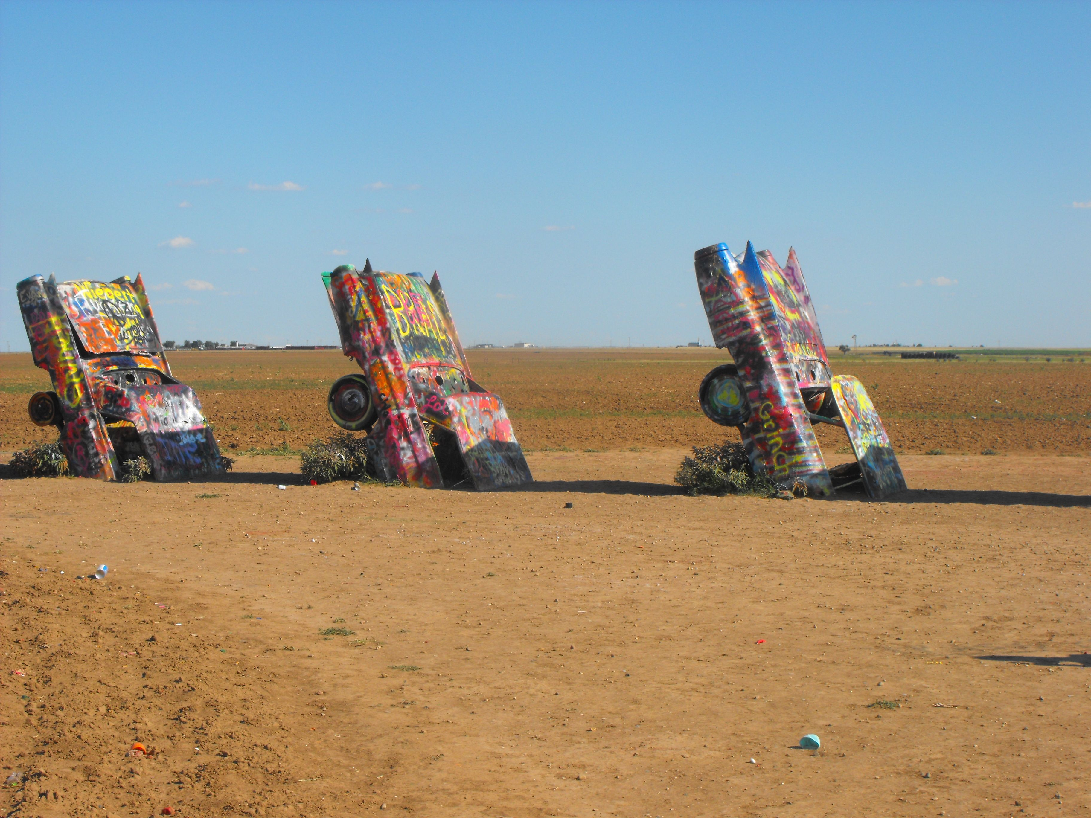 Cadillac Ranch, Amarillo TX. Get Involved With Art