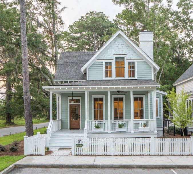 Southern Living Inspired Homes Project Cottage House Exterior Cottage House Plans Small Cottage Homes