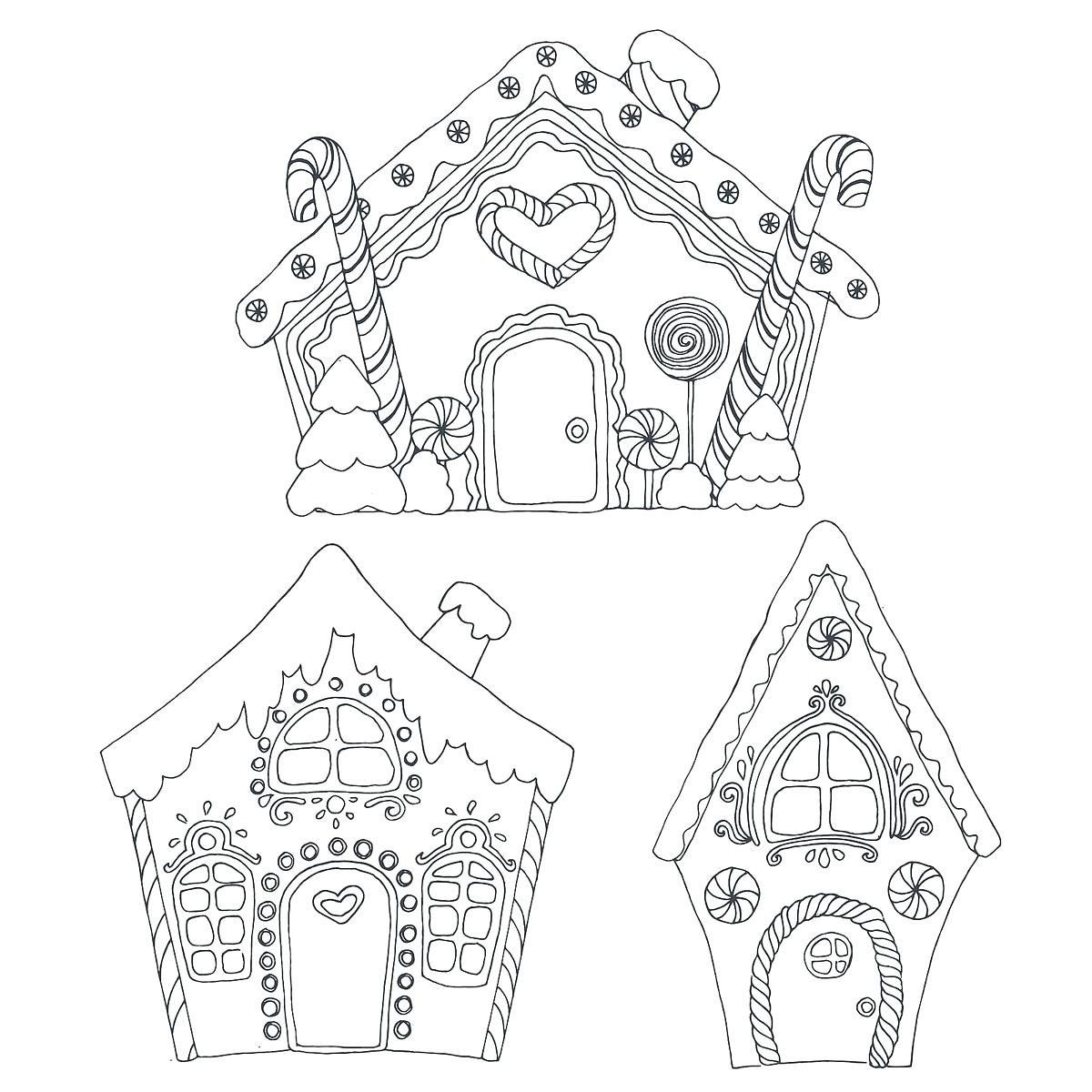27 Luxury Gingerbread House Coloring Page In