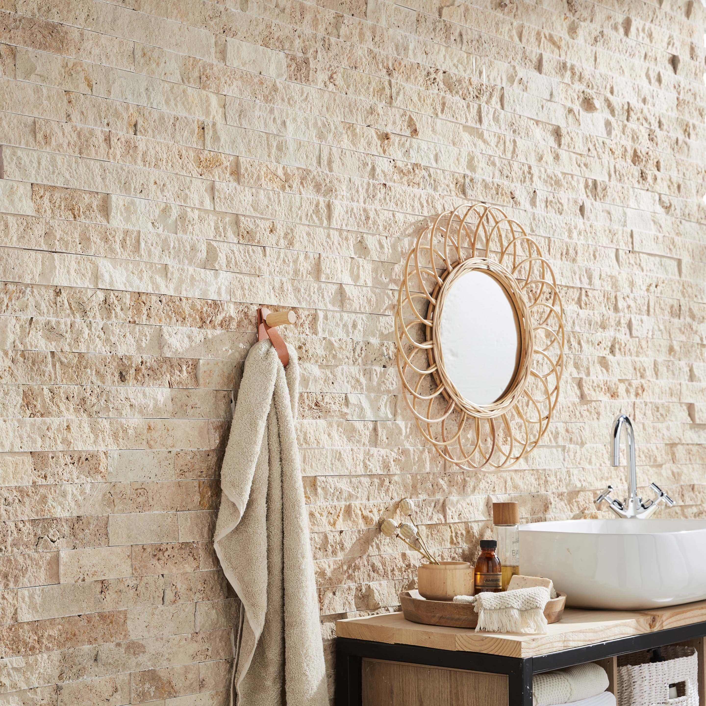 41++ Salle de bain parement beige trends