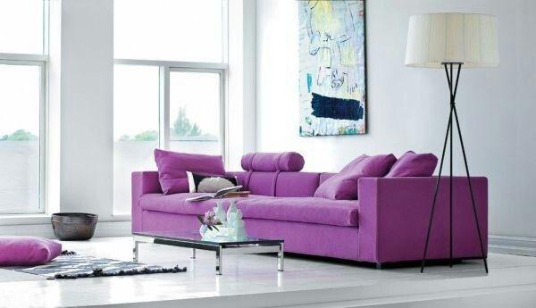 Purple Interior Design/Decor Pinterest Interiors