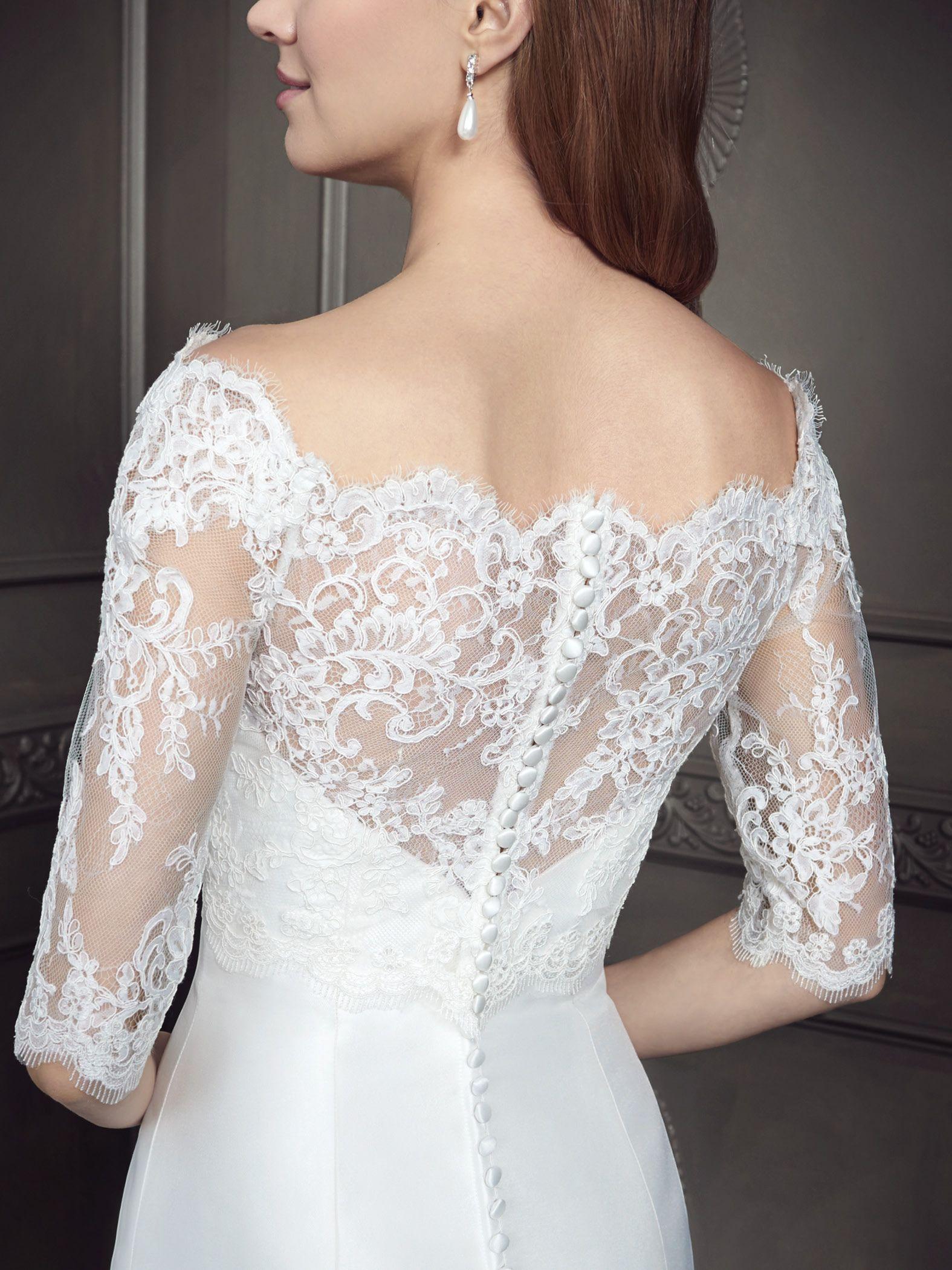 Ella Rosa Style BE347J (Includes Lace Jacket - JB347)  weddingdress  bridal 6de03fd31e