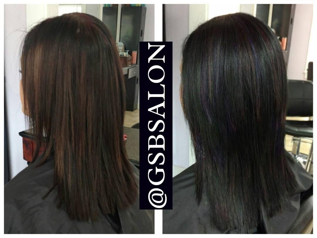 Before After Glass Slipper Beauty Salon Www Glassslipperbeautysalon Com 386 319 7942 Hair Salon Lake City Fl 536 Nw Orange Hair Salon Hair Long Hair Styles