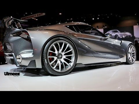 ft1 2016 toyota ft1 at 2015 chicago auto show youtube hot rods rh pinterest ca