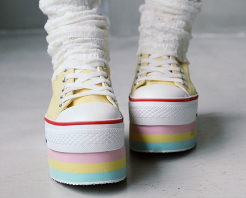 Love At First Sight Diy Shoes Shoes Platform Shoes
