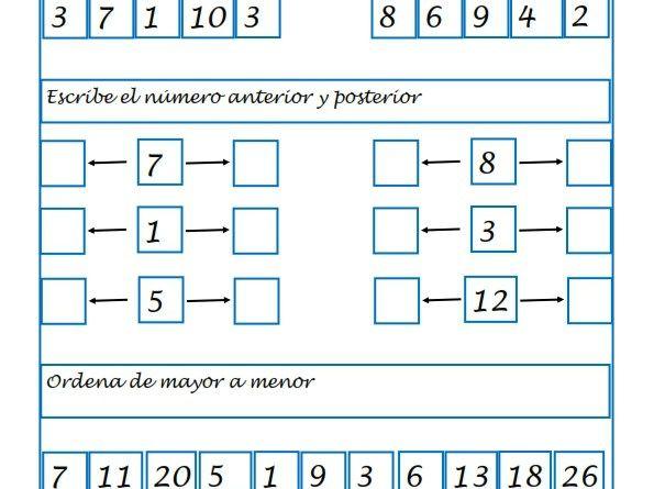 Recursos para el aula: Ejercicios de Matemáticas para 1º Primaria ...