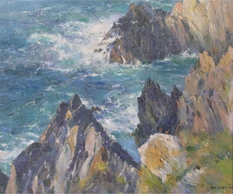 Lively Seas - Polperro