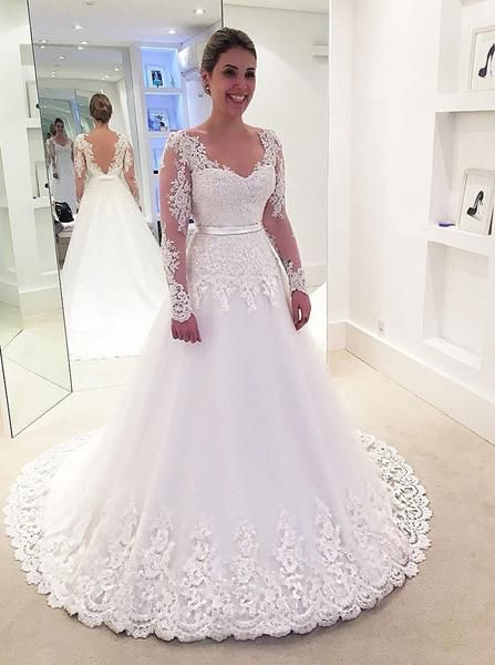 classic wedding dresses,bridal dress with sleeves,elegant wedding