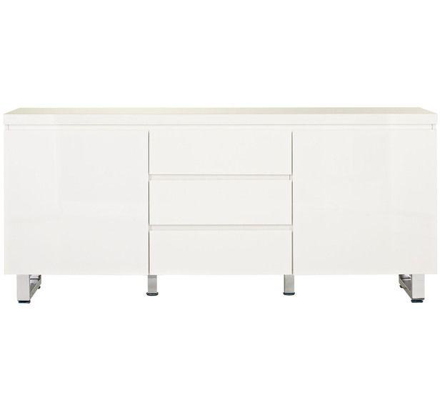 White TV unit  499 Fantastic Furniture 166cm wide Vogue 2 Door Buffet. White TV unit  499 Fantastic Furniture 166cm wide Vogue 2 Door