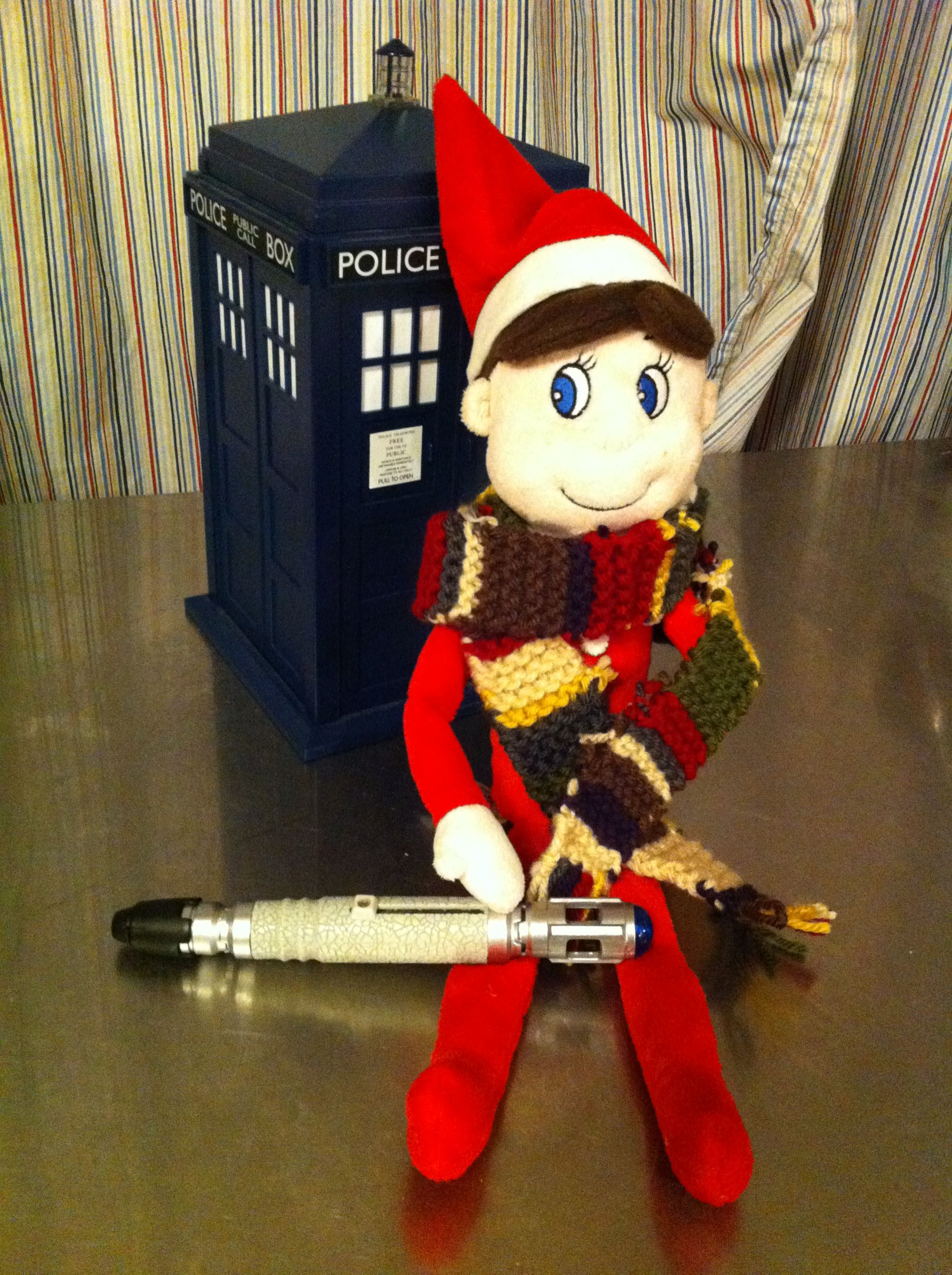 Elf On The Shelf As The Doctor
