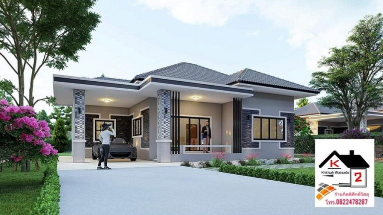 Unique House Plan For Medium Sized Family Pinoy House Designs Pinoy House Designs Unique House Plans Unique Houses Elevated House Plans