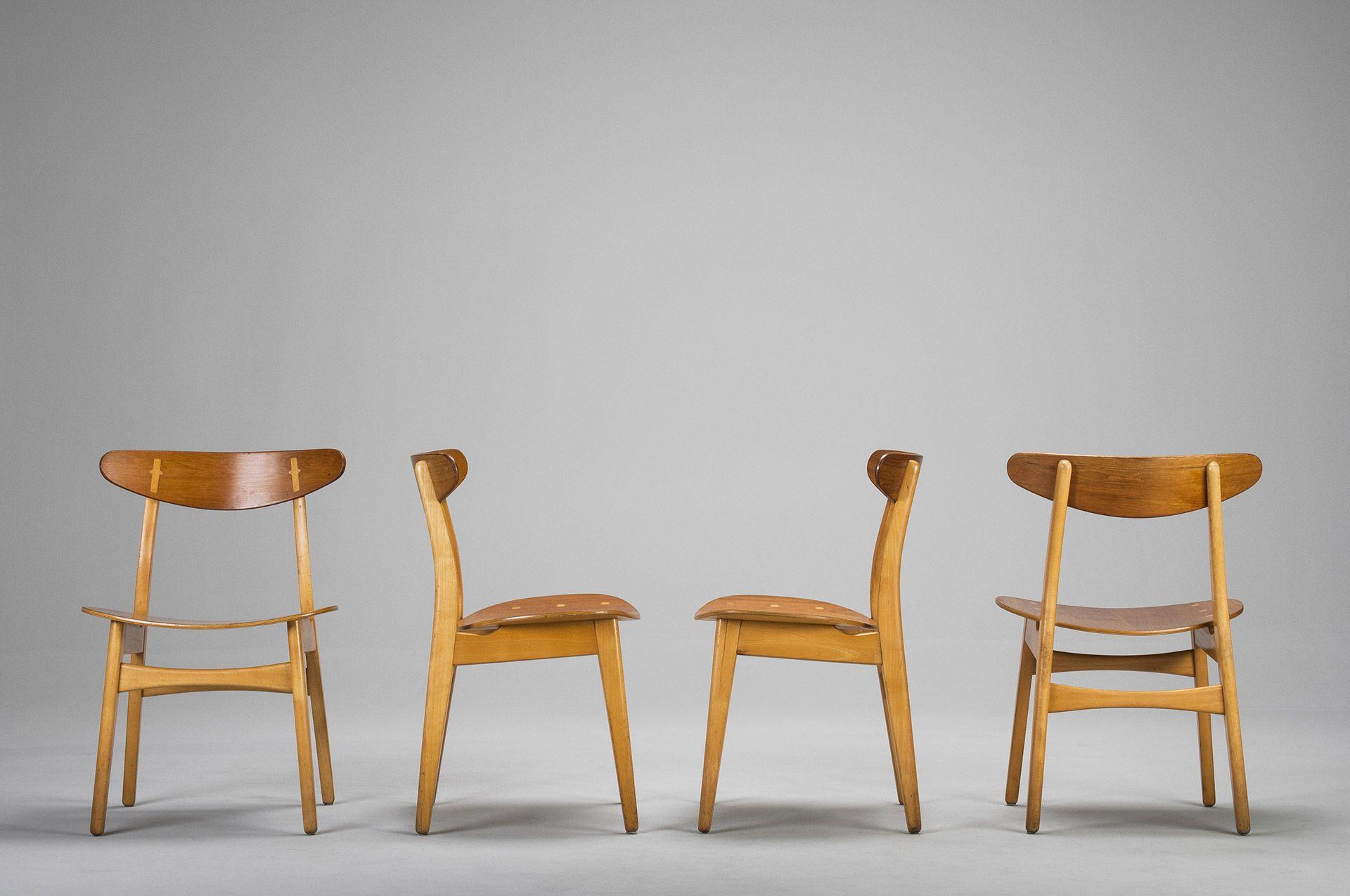 Set of four chairs studio pinterest