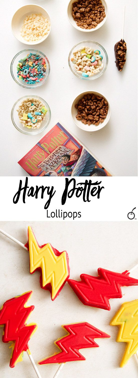 As the Harry Potter conversations continued, my confectionery expertise joined forces, resulting in Harry Potter chocolate lollipops.