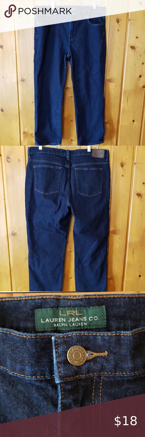 ➕ LRL Ralph Lauren Dark Wash Jeans