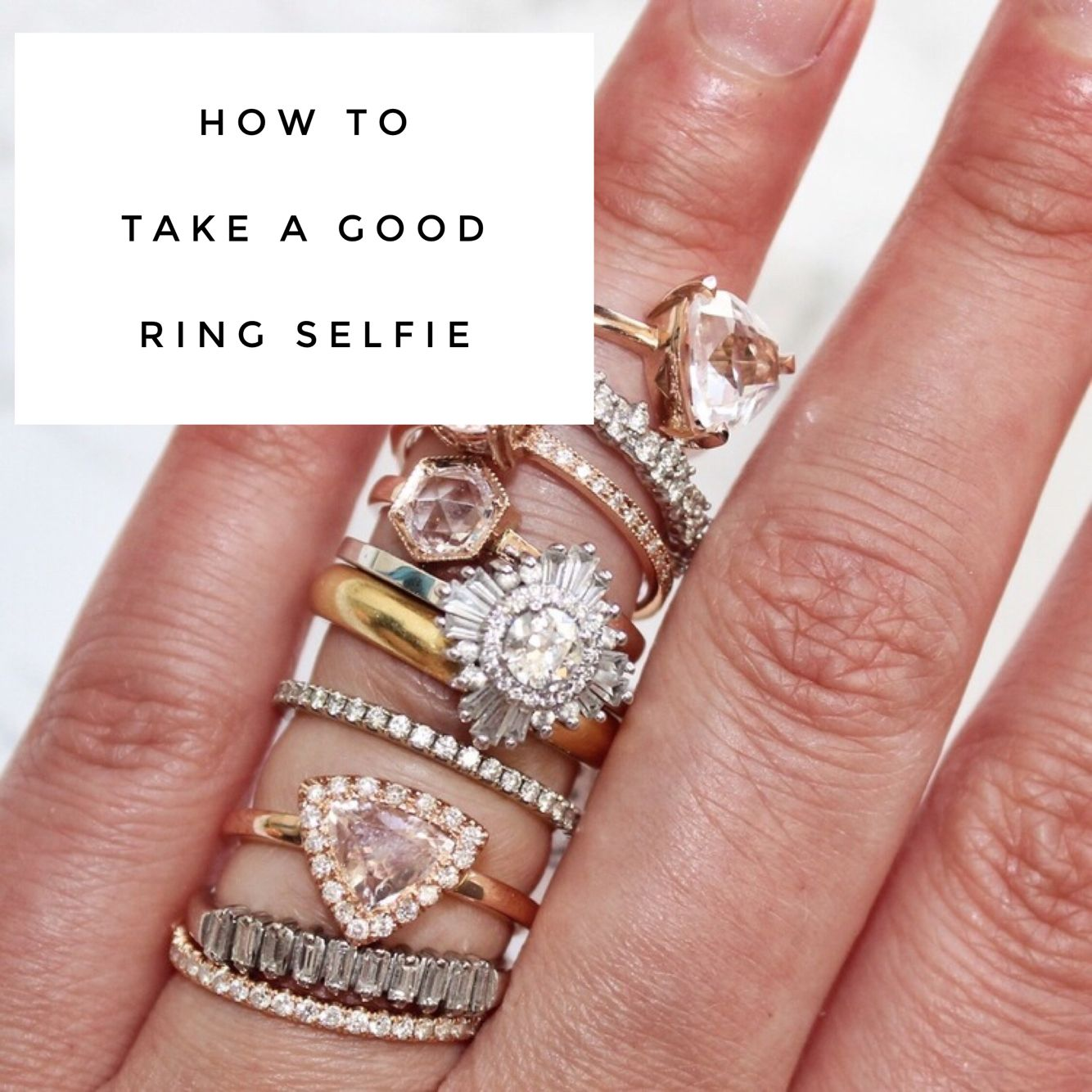 Five Tips For Taking A Engagement #ringselfie