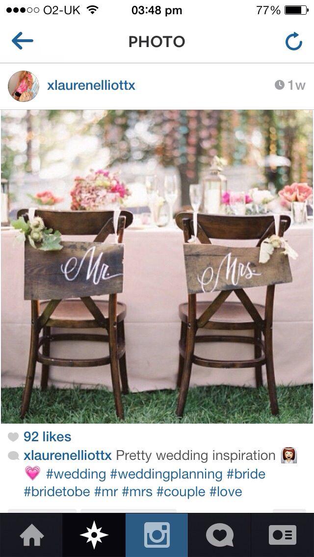 cute chair decorations can t help it pinterest wedding rh pinterest com au