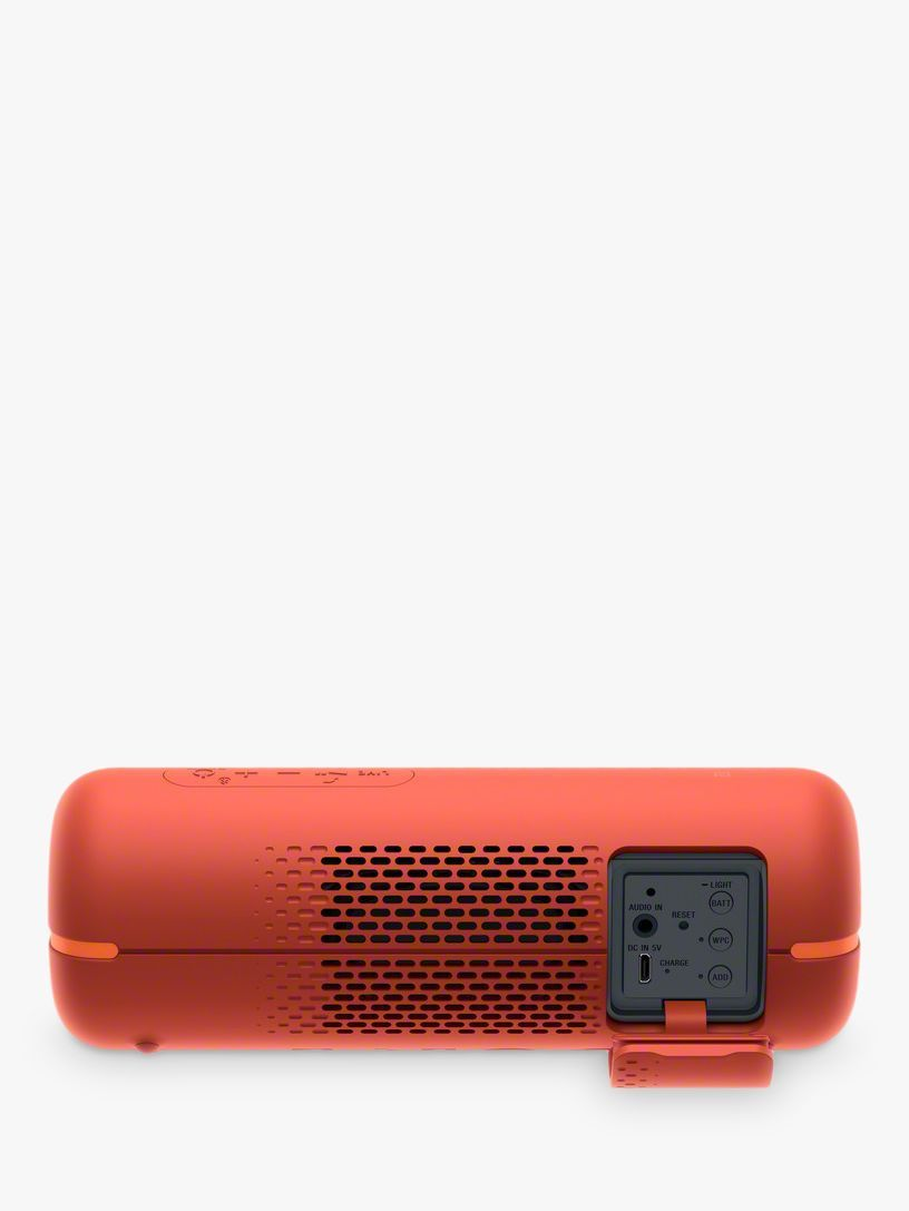 Sony Srs Xb22 Extra Bass Waterproof Bluetooth Nfc Portable Speaker With Line Lighting Sony Speakers Sony Bluetooth