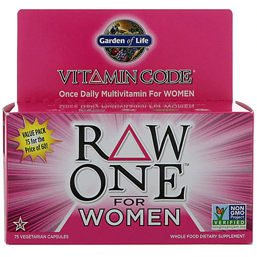 Garden Of Life Vitamin Code Raw One Multivitamin For Women 75