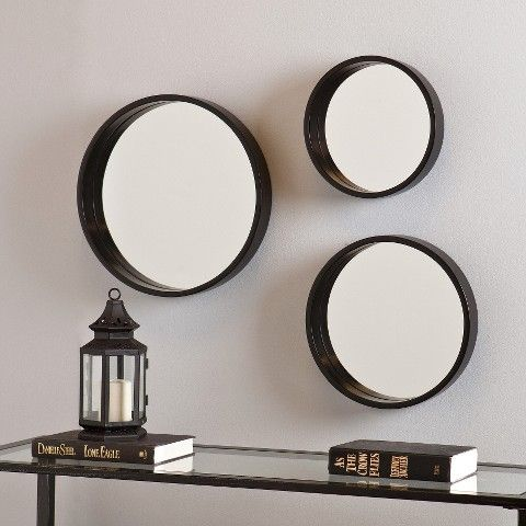 Southern Enterprises Decorative Wall Mirror 3 Piece Set | Our Home ...