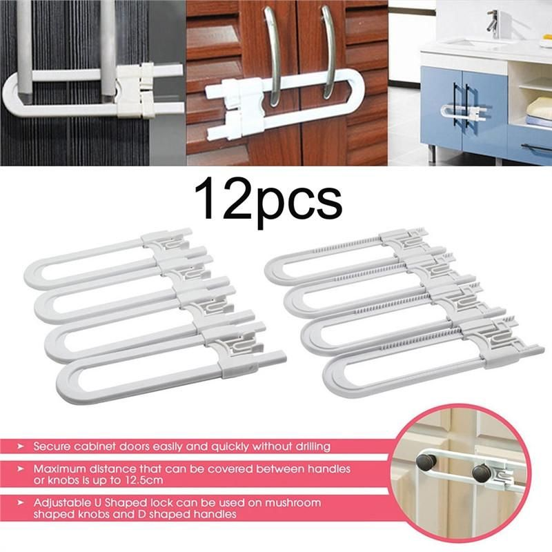 pack of 4 child safety cabinet latches for baby safe closet kitchen rh pinterest nz