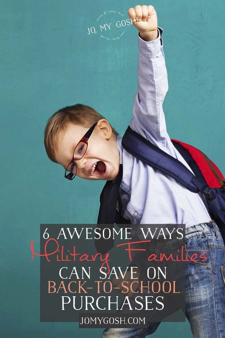 6 Awesome Ways Military Families Can Save On Back To