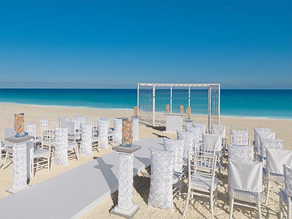 all inclusive beach wedding destinations%0A White Rosette Ceremony at the allinclusive Hard Rock Hotels in Mexico and  the Dominican Republic